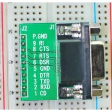 DB9 Male Signals Breakout Board BreadBoard