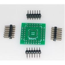 """LQFP48 breakout board 2.54mm 0.1"""""""