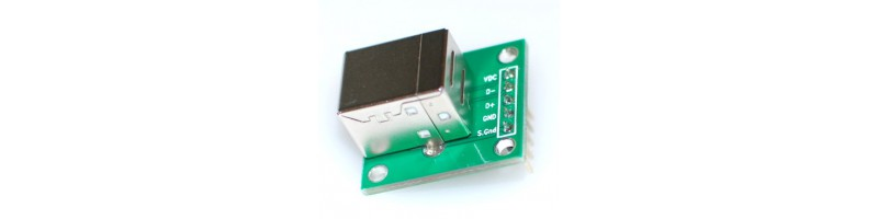 USB B Female Breakout Board