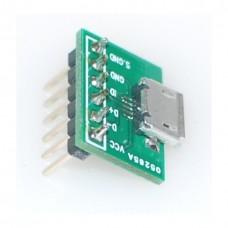 Micro USB B Female Breakout Board
