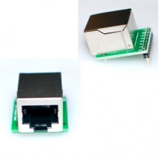 RJ45 LAN Socket Breakout Board breadboard