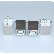 Vertical USB B PCB  USB Type B Connector x 4PCs